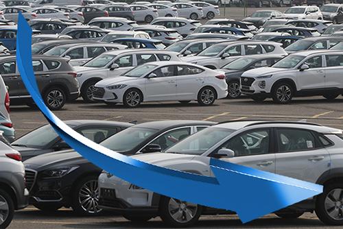 한국, 10대 수출국 중 '가장 가파른' 수출 감소세