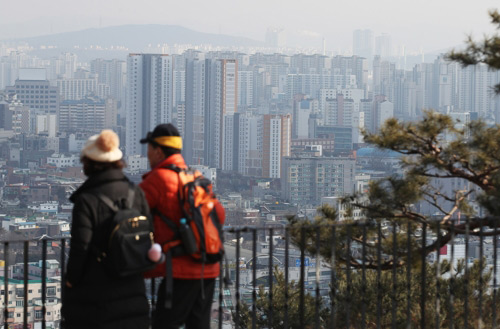 Alta concentración de micropartículas en Chungcheong y Jeju