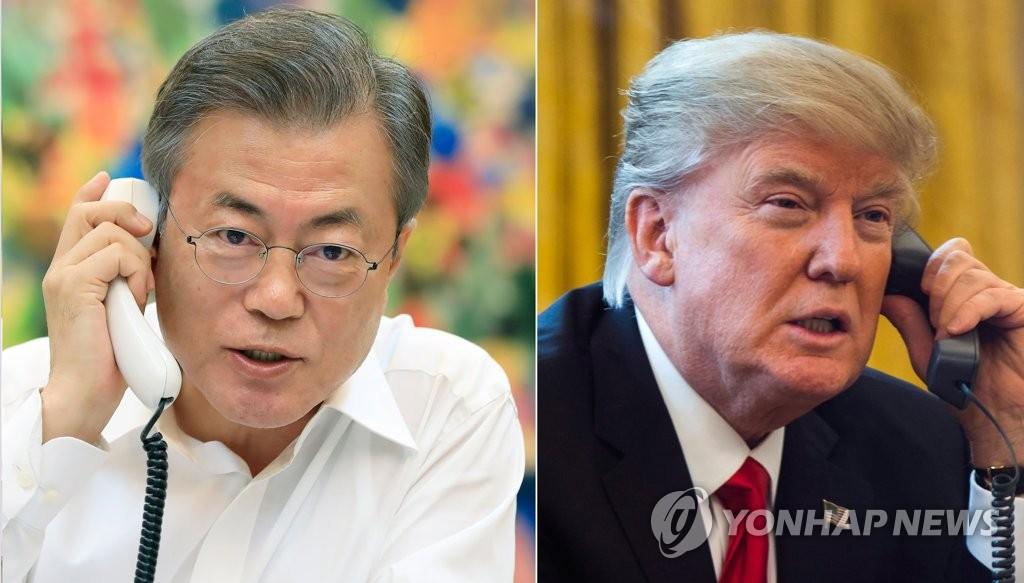 韩美首脑通话 北韩同日进行重大试验