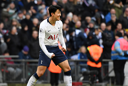 Son Heung-min Scores 11th Goal of League