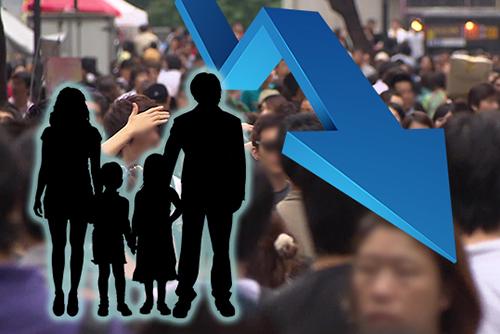 عدد سكان كوريا يصل إلى ذروته في عام 2027