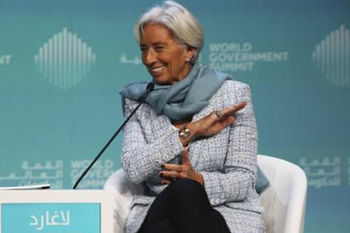 IMF Chief Warns of Global 'Economic Storm'