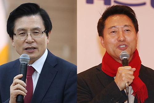 한국당 전대 후보 등록…오세훈 출마키로