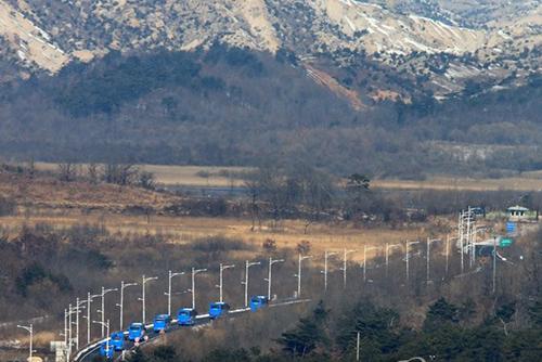 Début aux monts Geumgang du premier échange de l'année entre des ONG des deux Corées