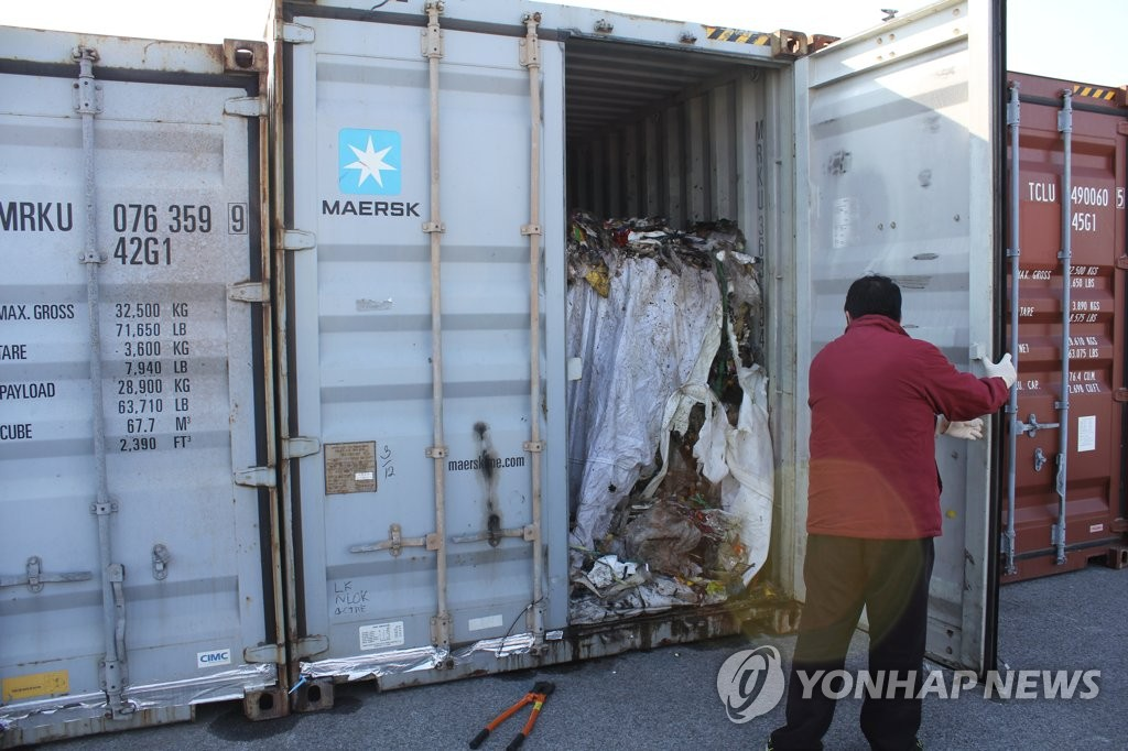 Gov't to Dispose of Illegally-Exported Garbage by Next Month
