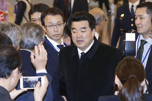 북한 김일국, 스위스 방문차 평양 출발…베이징 경유