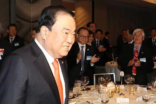 韓国国会議長 日本の抗議に「謝る事案ではない」