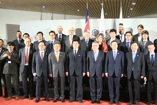 南北韩争办2032年首尔-平壤奥运会 15日举行三方会谈