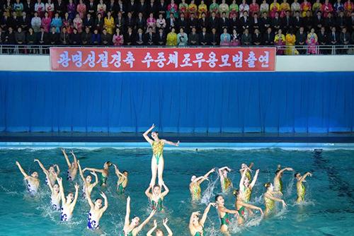 北韩举行多种文化活动庆祝金正日生日