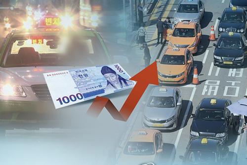 日中の初乗り3800ウォンに ソウルのタクシー料金