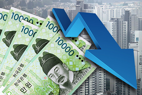 S. Korea's Household Lending Marks First Decline on Record