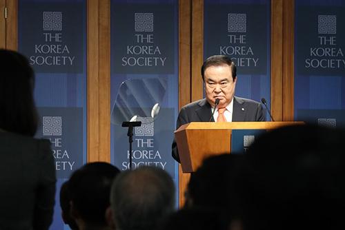 文喜相国会議長ら帰国 北韓問題への米国の見方は「希望的」に変化