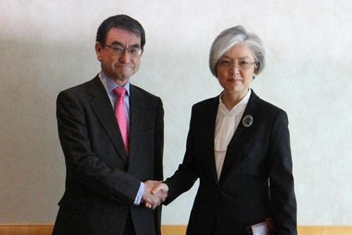 Les ministres sud-coréen et japonais des Affaires étrangères souhaitent que prochain sommet Pyongyang-Washington soit un succès