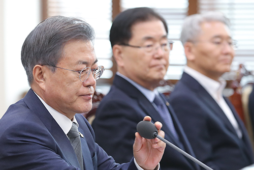 Moon Criticizes Opposition Lawmakers' Remarks on Gwangju Democratization Movement