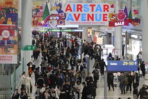 仁川国際空港 去年、国際線旅客数で世界5位
