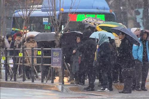 Météo : le centre du pays sous la neige