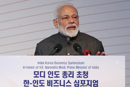 Début de la visite d'Etat du Premier ministre indien