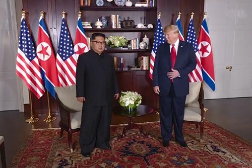 特朗普:若要解除制裁 北韩需采取行动