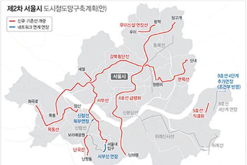 Un TLR pourrait relier Cheongryangri à Mokdong