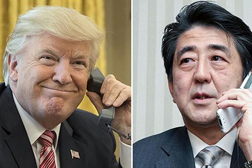 US-Präsident Trump und Japans Premier Abe bekräftigen Ziel der Denuklearisierung in Nordkorea