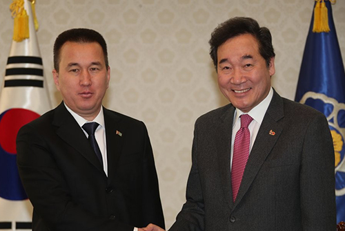 S. Korea, Turkmenistan Discuss Measures to Deepen Ties