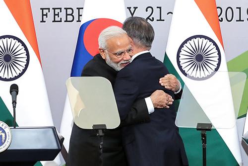 Korea Selatan dan India Memperkuat Kerja Sama Bidang Industri Keempat dan Pertahanan