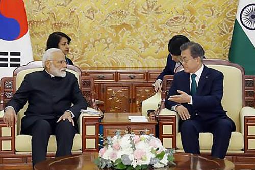 Séoul et New Delhi s'engagent à coopérer davantage en matière de 4e révolution industrielle