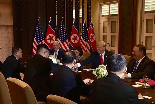 Sommet Trump-Kim : la déclaration de la fin de la guerre pourrait être discutée