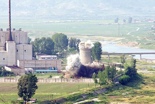 ウラン濃縮施設を拡充か 北韓