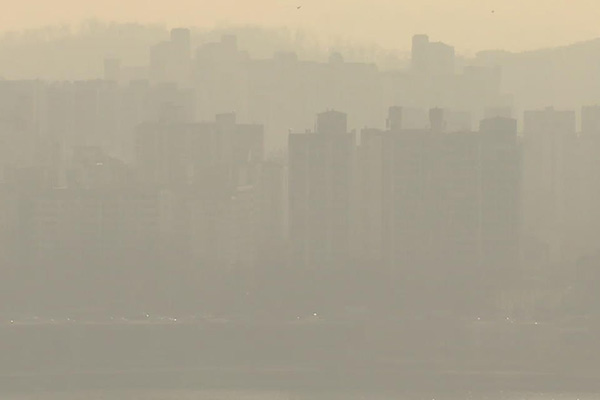 Record Fine Dust Reported in S. Korea's Inland Areas