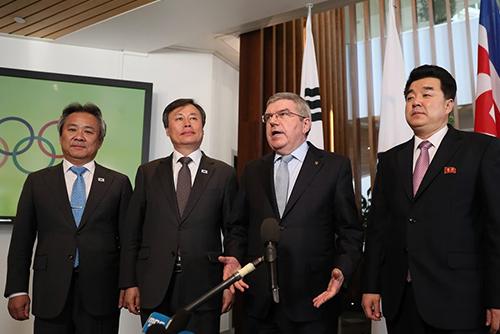 El COI aprueba la propuesta coreana de unificar equipos para Tokio 2020