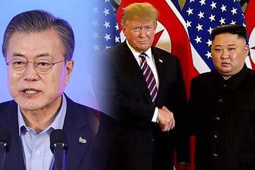 文大統領「米朝、首脳会談に向け水面下での対話は進行中」