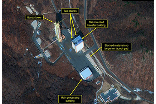 Defense Ministry: Restoration of Dongchang-ri Missile Site Near Completion