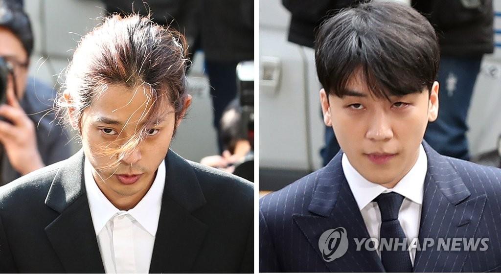 Deux vedettes de k-pop interrogées par la police pour des affaires sexuelles