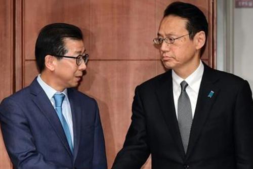 韓日局長級会談 「対抗措置を取り合う事態は避けよう」