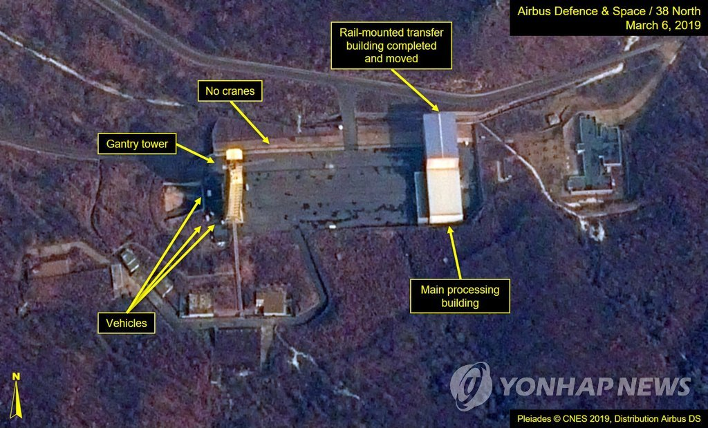38 North: No New Activity Since Mar. 8 at Dongchang-ri Missile Site