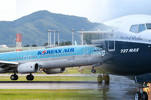 Korean Air retarde l'exploitation de ses Boeing 737 MAX 8