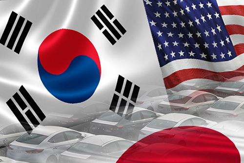 対米輸入が急増で日本上回る  韓米FTA7周年
