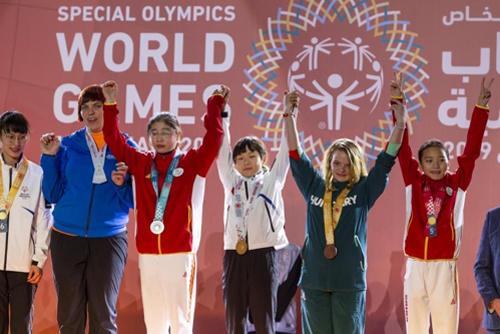 스페셜올림픽 한국 첫 금메달 주인공, 13세 롤러스케이터 박하은