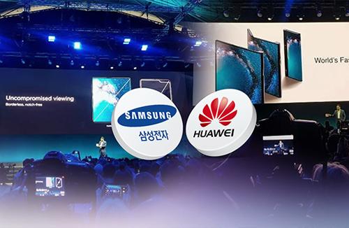 """삼성·화웨이 스마트폰 매출 격차 좁혀져…""""올해 역전 가능성"""""""