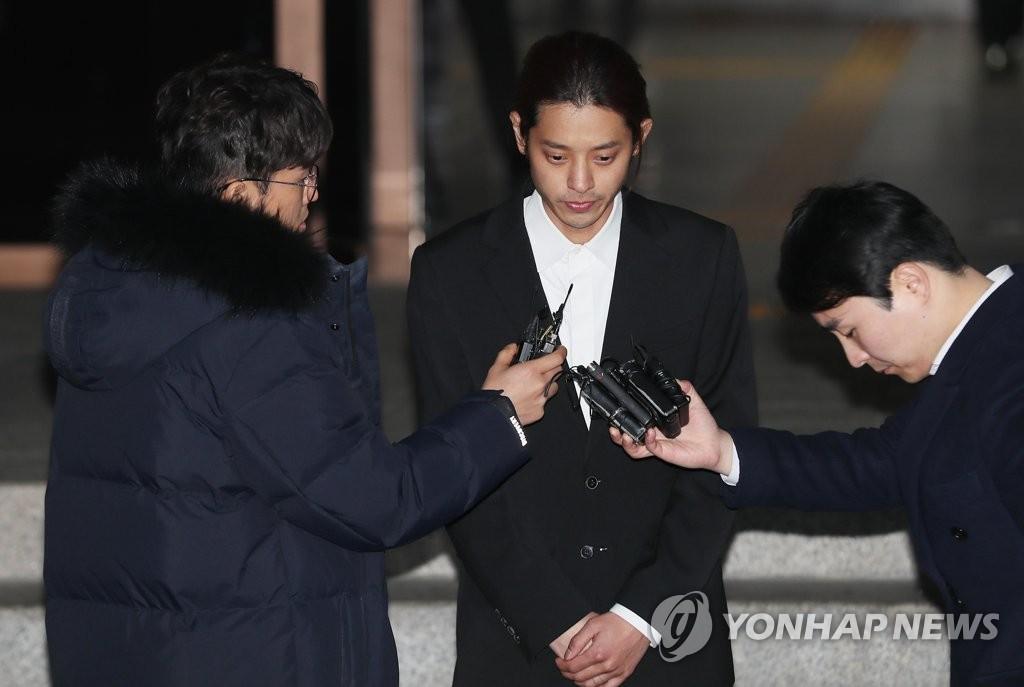 Sänger Jung Joon-young in Sexvideo-Skandal verhaftet