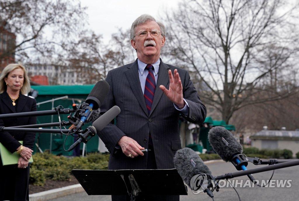 بولتون يحذر بيونغ يانغ من إجراء تجربة نووية أو صاروخية جديدة