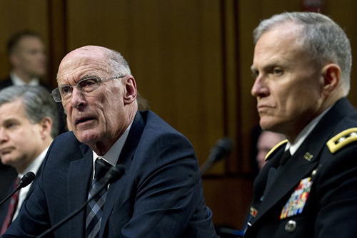 'US Intelligence Chief Visits S. Korea to Discuss N. Korea'
