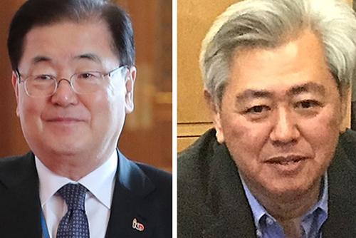 Chung Ui-yong reçoit Andrew Kim pour discuter de la coopération Séoul-Washington
