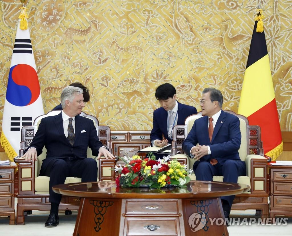 韓国・ベルギー 韓半島平和プロセスに向けて協力へ