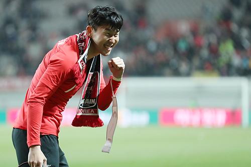 كوريا الجنوبية تفوز على كولومبيا في مباراة ودية