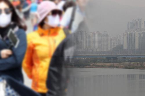 韓国、呼吸混乱が過去5年で最多 PM2.5の影響か