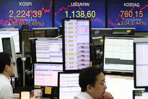 Südkoreas Börse schließt im Plus