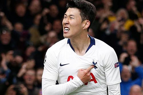 Son Heung-min Mencetak Gol di Perempat Final Liga Champions