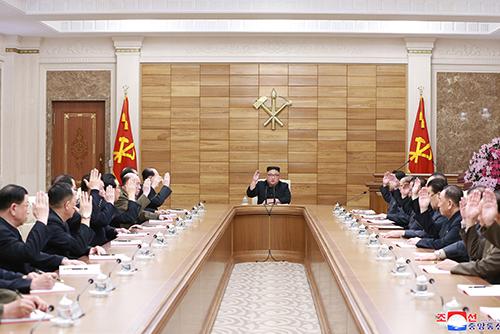 北韓 労働党政治局拡大会議と中央委員会総会を相次いで開催